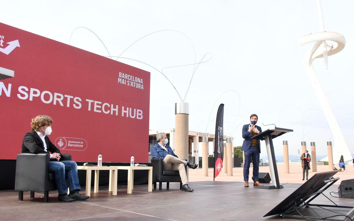 El BIHUB, presente en el lanzamiento del Barcelona Sports Tech Hub
