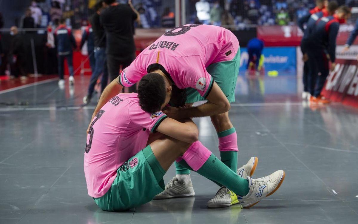 Inter Movistar 6-4 Barça: Super Cup defeat