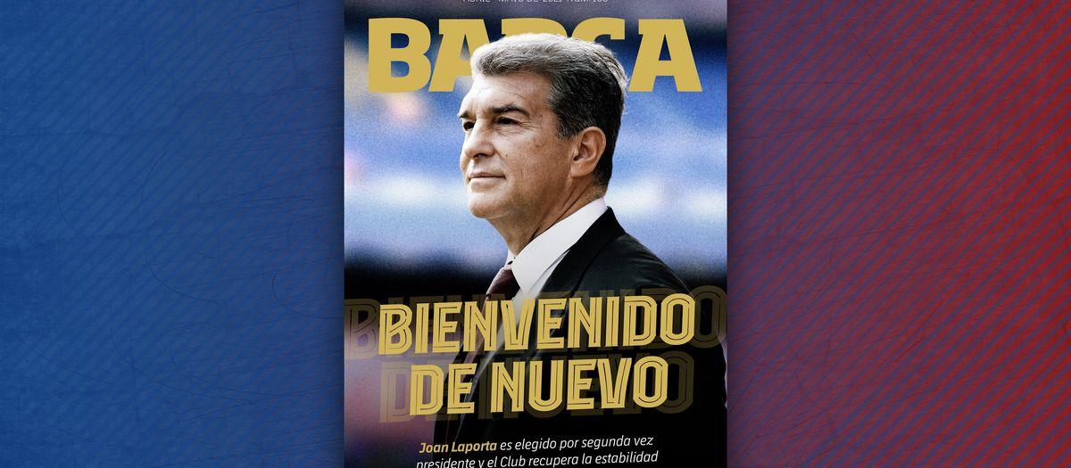 New Laporta era features in BARÇA MAGAZINE