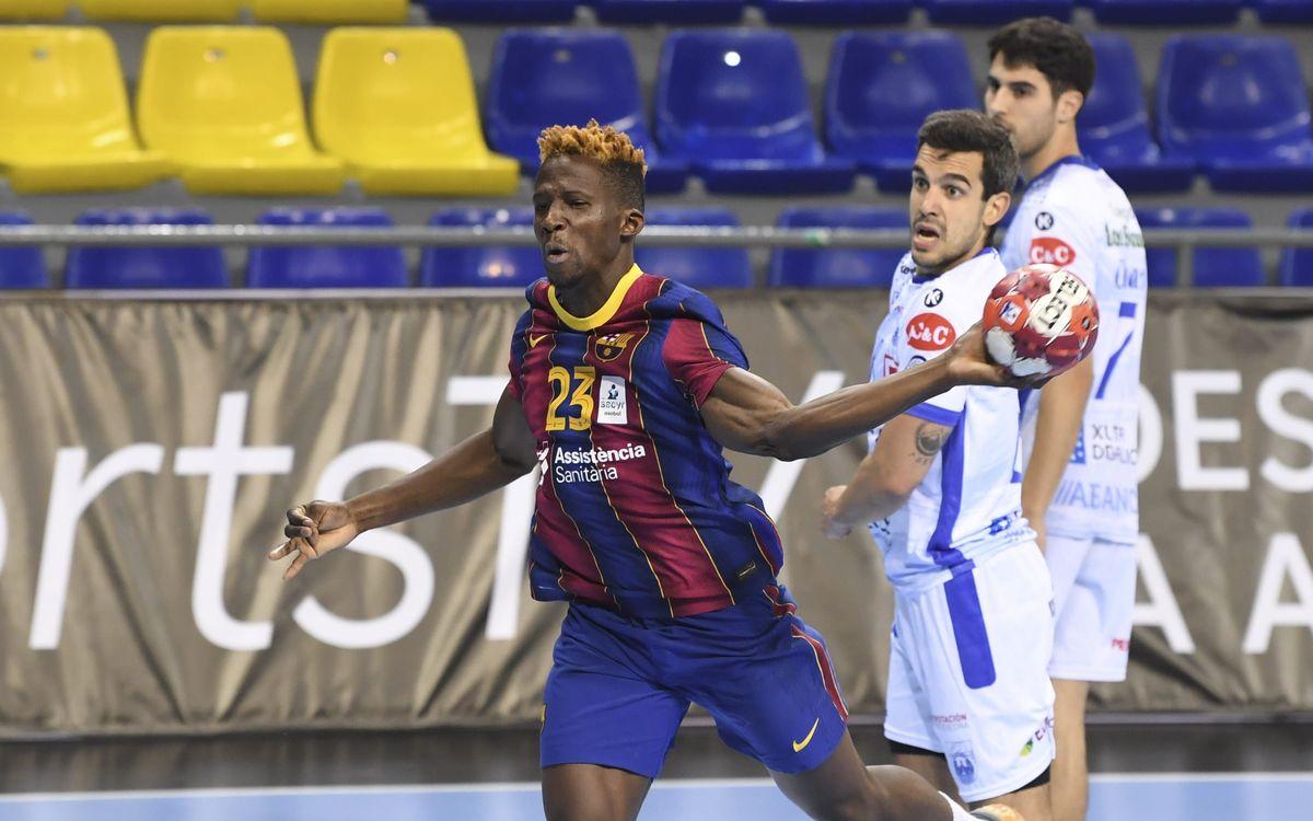 Barça 43-21 Dicsa Modular Cisne: Big win to bring title closer