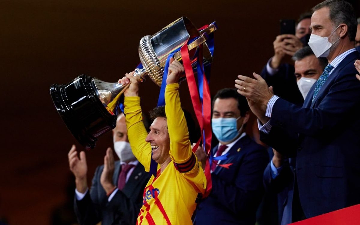 Copa del Rey win 'very special' for Messi