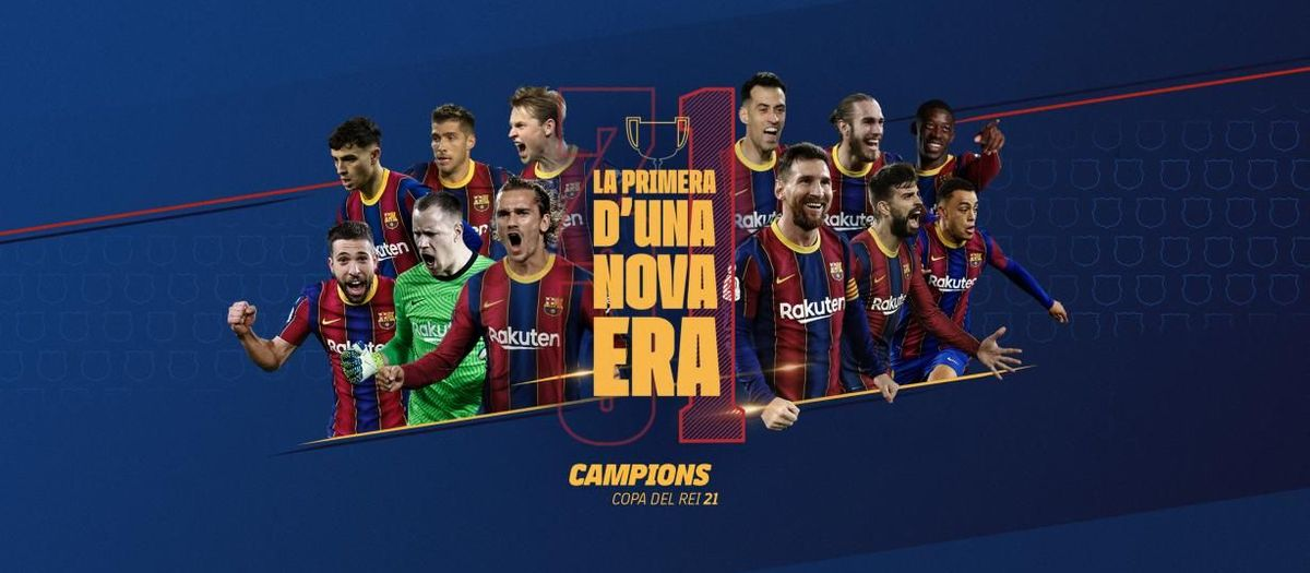 El Barça guanya la seva 31a Copa del Rei