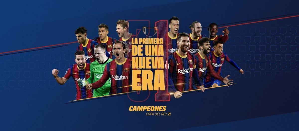 El Barça gana su 31ª Copa del Rey