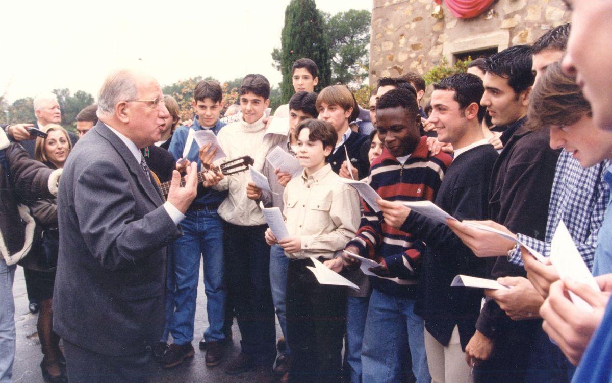 Fallece Josep Mussons, directivo del Club durante 22 años