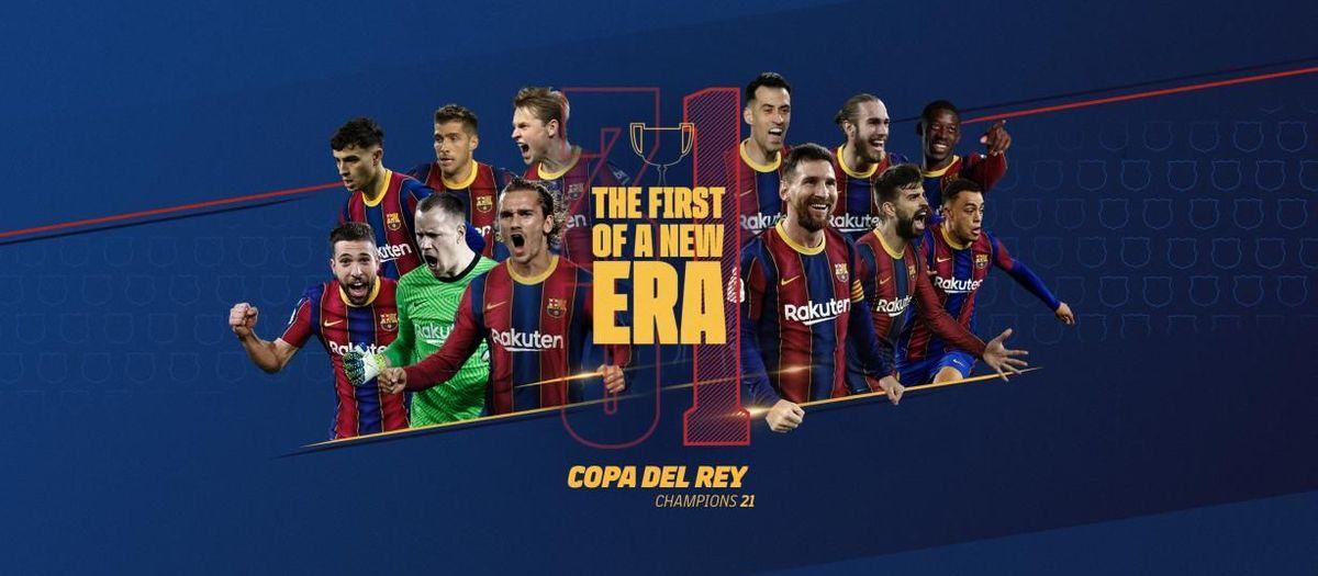 FC バルセロナ、31回目の国王杯制覇
