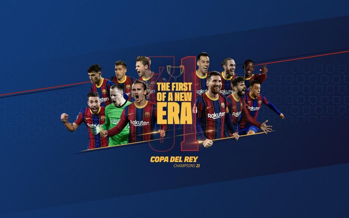 FC Barcelona win their 31st Copa del Rey title