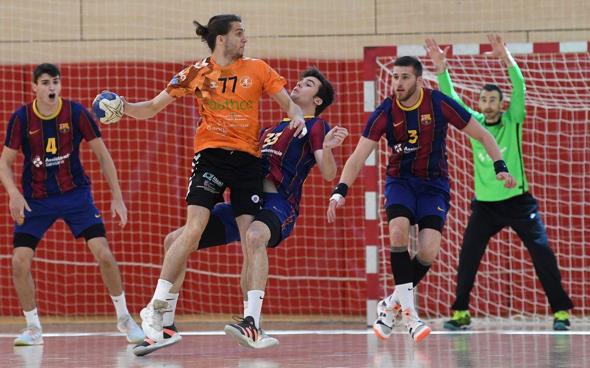 Barça B – BATHCO BM Torrelavega (26-34): Derrota ante el líder