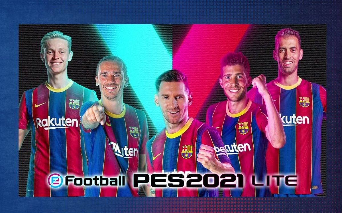 The free-to-play version of the eFootball PES 2021 SEASON UPDATE is available now