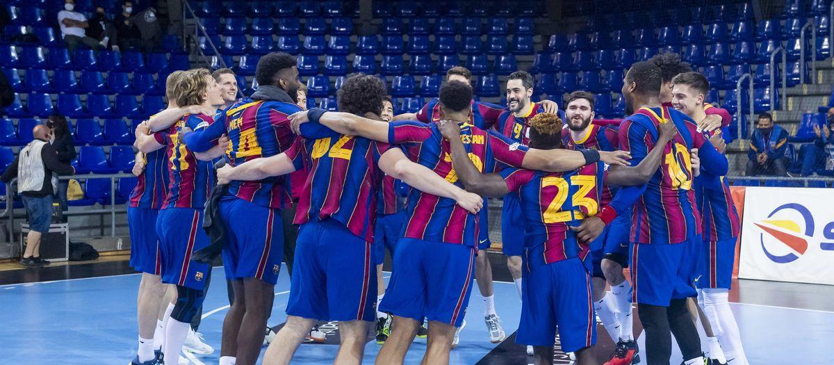 Barça 37-21 Ángel Ximénez Puente Genil: League champions!