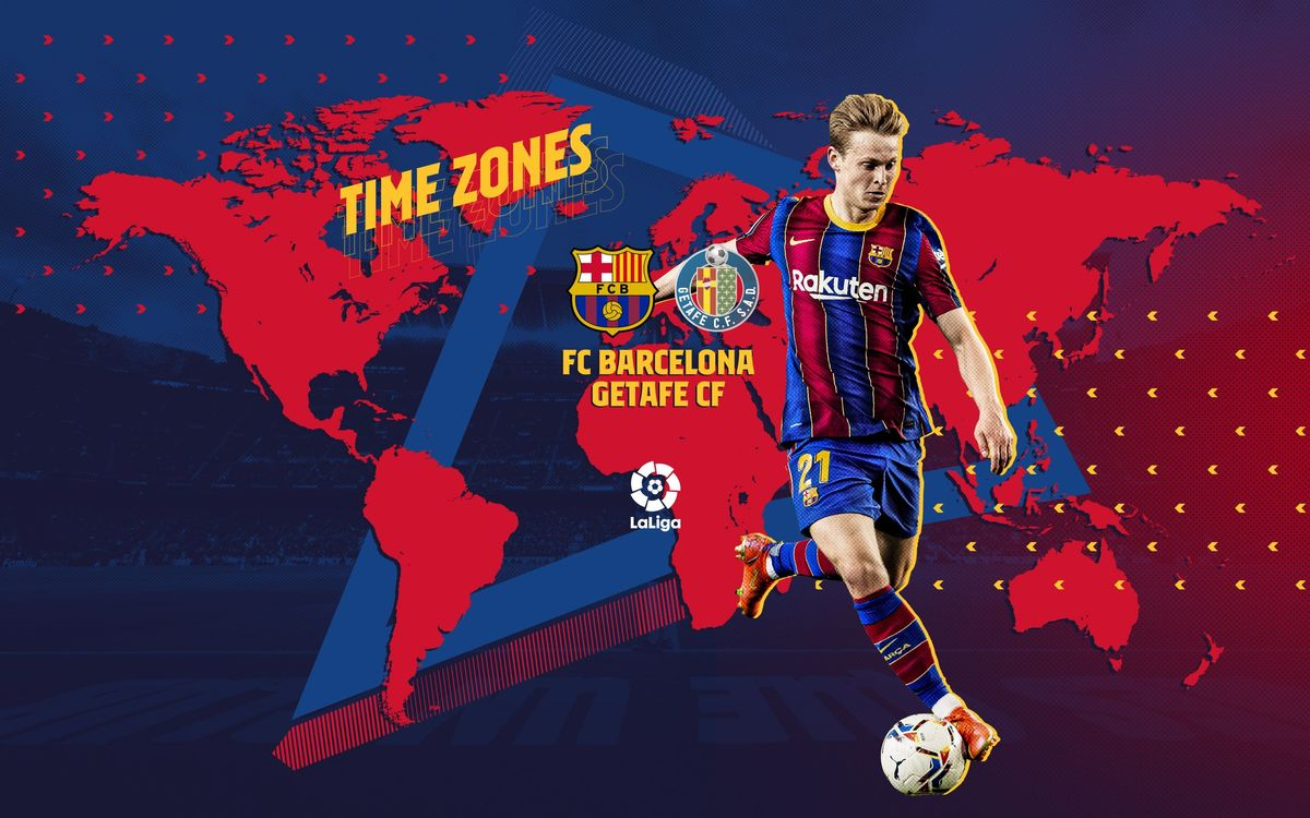 When and where to watch FC Barcelona v Getafe