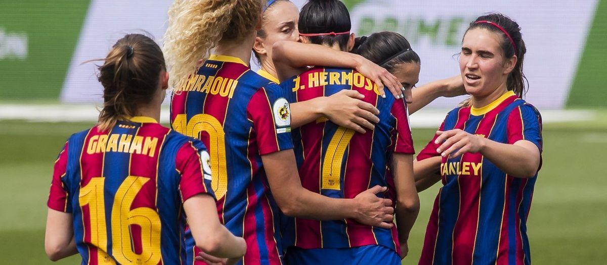 Barça-Granadilla Tenerife: No afluixen (6-1)
