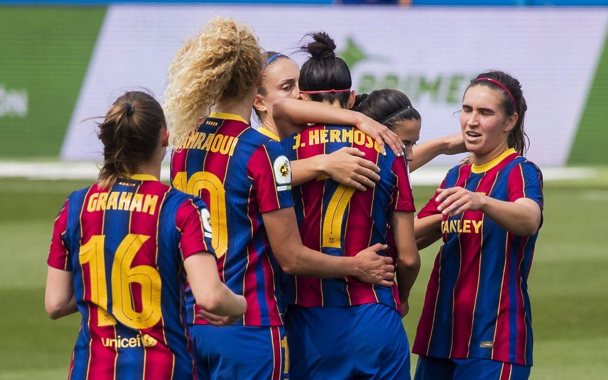 Barça Women 6-1 Granadilla Tenerife: No let up