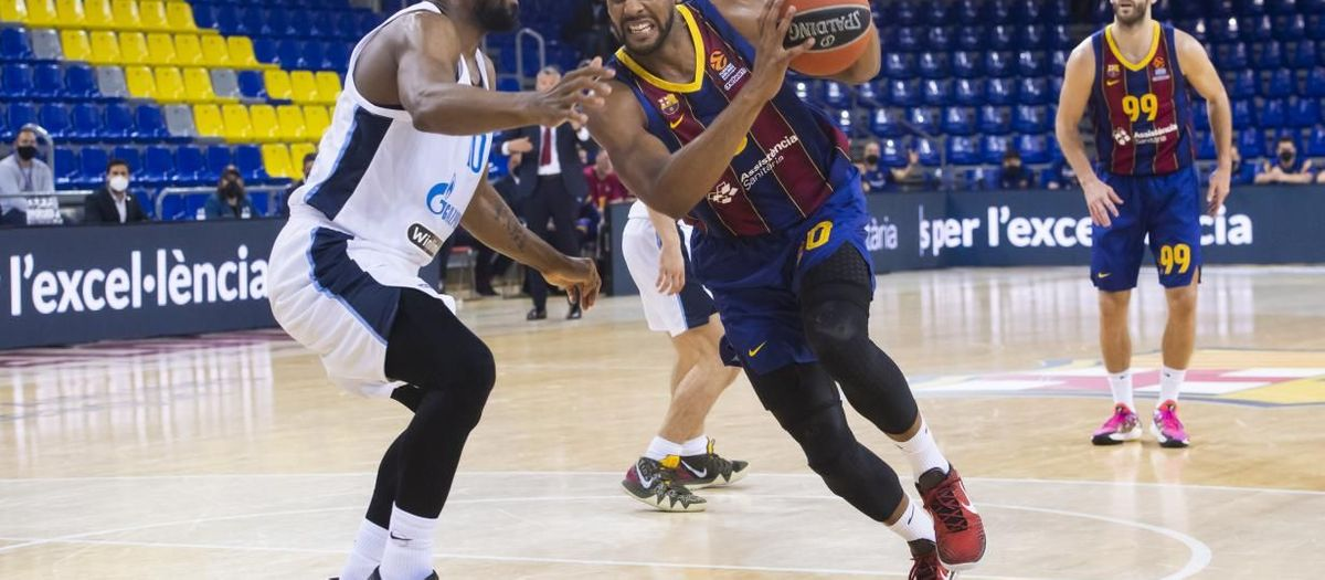 Barça 74-76 Zenit: Adverse start to the quarters