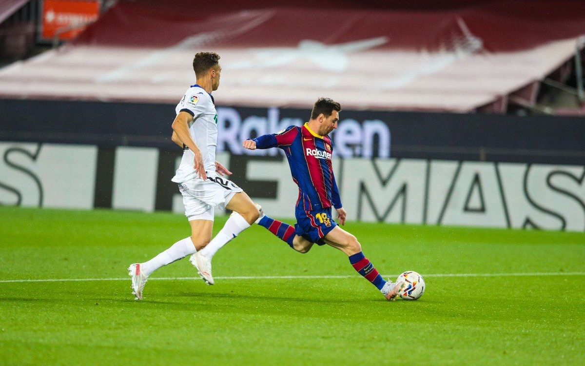 Messi does not train with coach's permission and will miss Eibar game