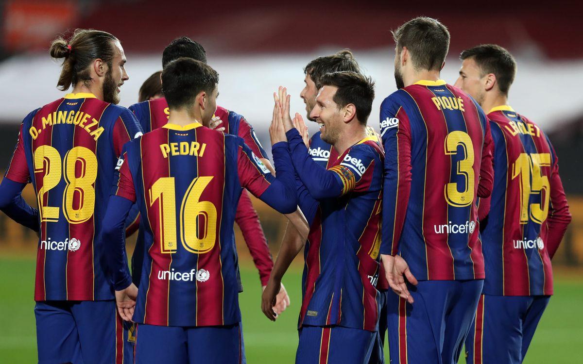 Barça - Getafe: Goleada para seguir creyendo en la Liga (5-2)