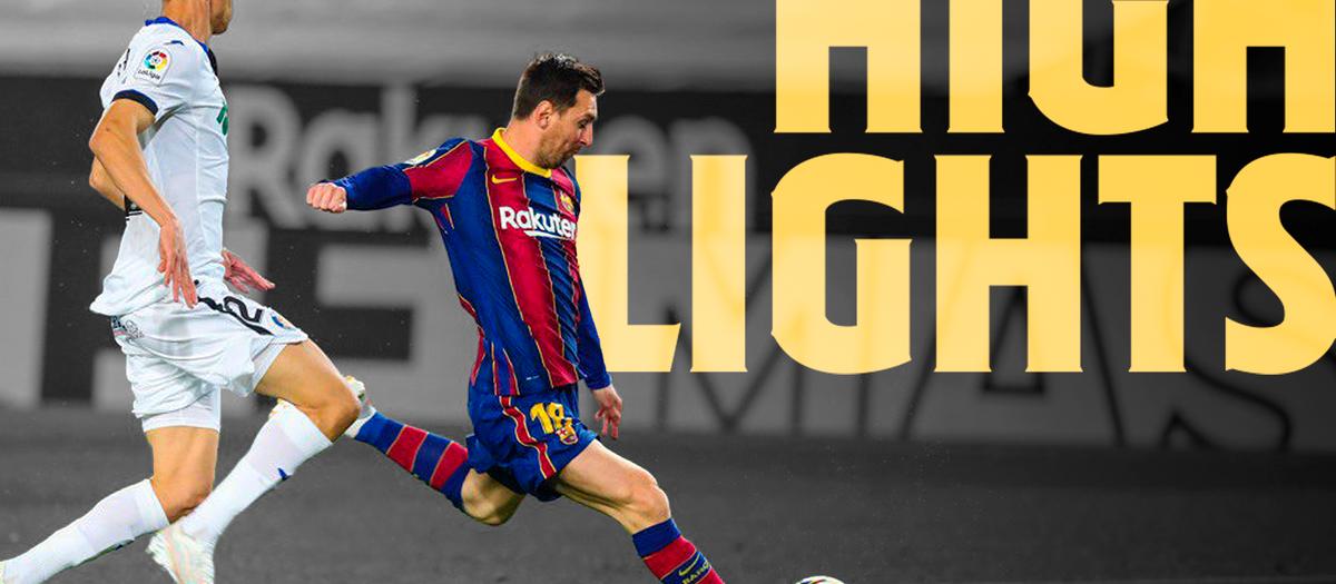 Les moments forts de Barça - Getafe (5-2)
