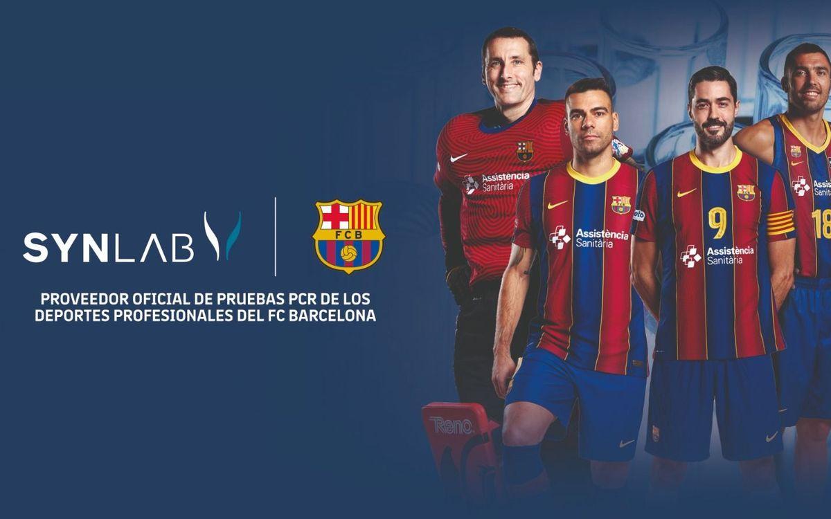 El Barça incorpora a SYNLAB como nuevo proveedor de los deportes profesionales