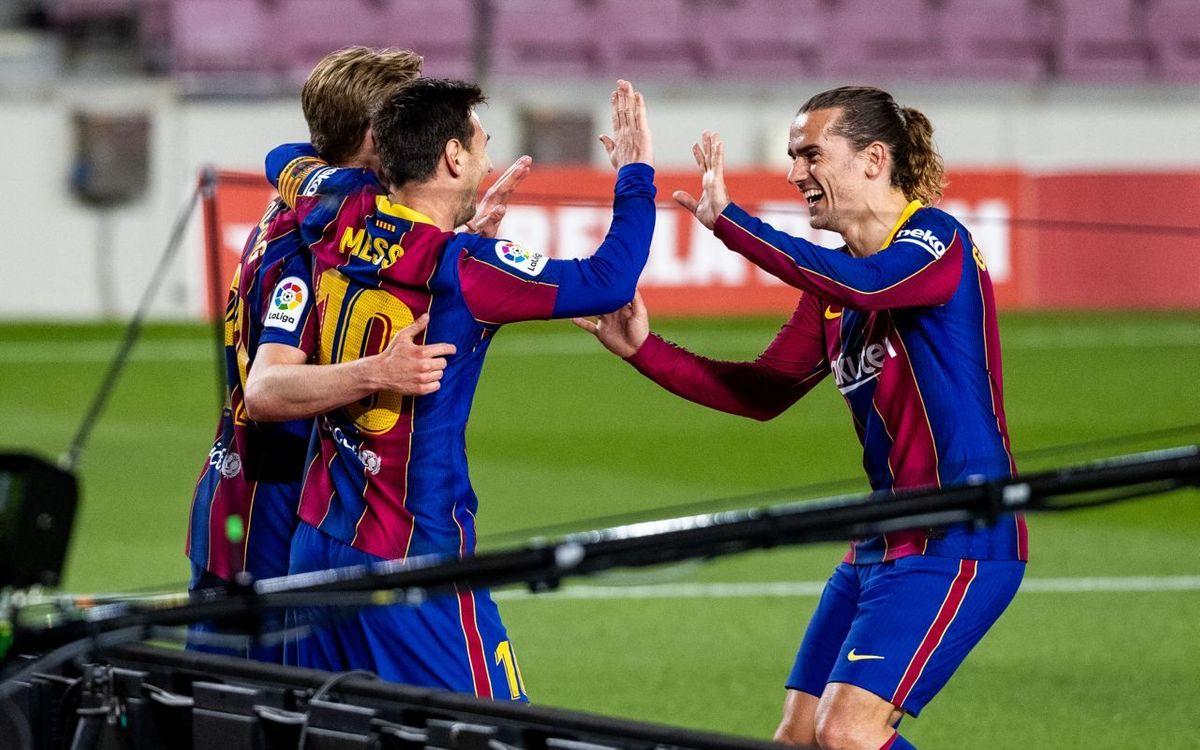 Barça - Getafe : Toujours dans la course (5-2)