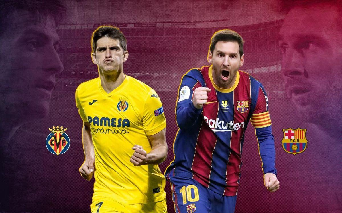 Leo Messi v Gerard Moreno: Head to head