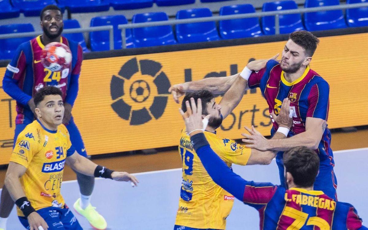 Blasgón/Bodegas Ceres VA – Barça: Desplazamiento para el campeón