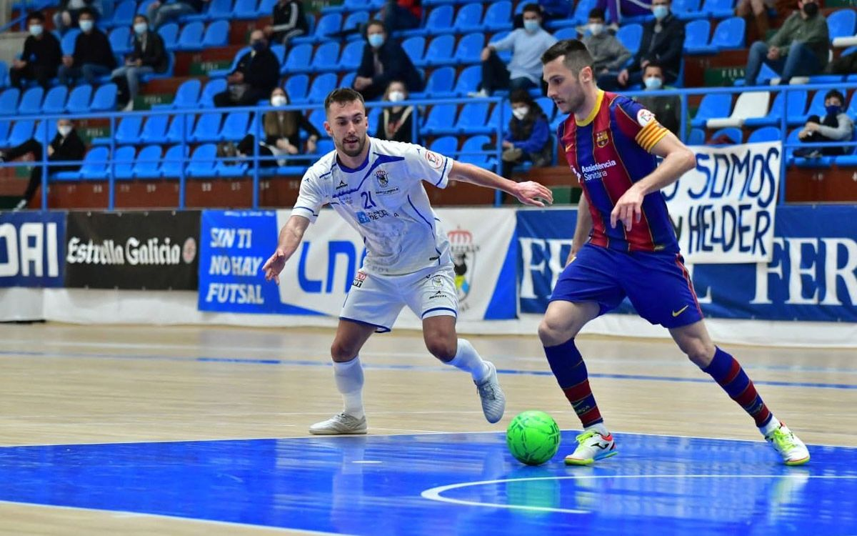O Parrulo Ferrol 0-2 Barça: A win in 24 seconds
