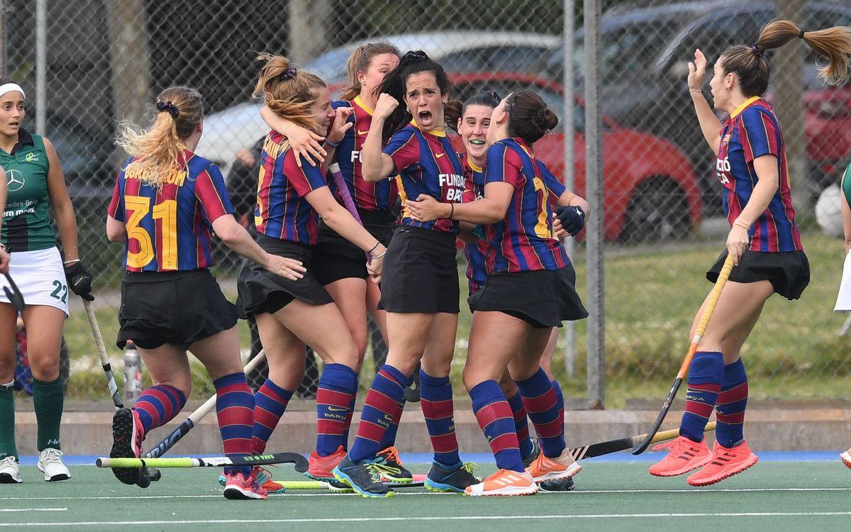 Ascenso del Barça Hockey Hierba a la máxima división femenina