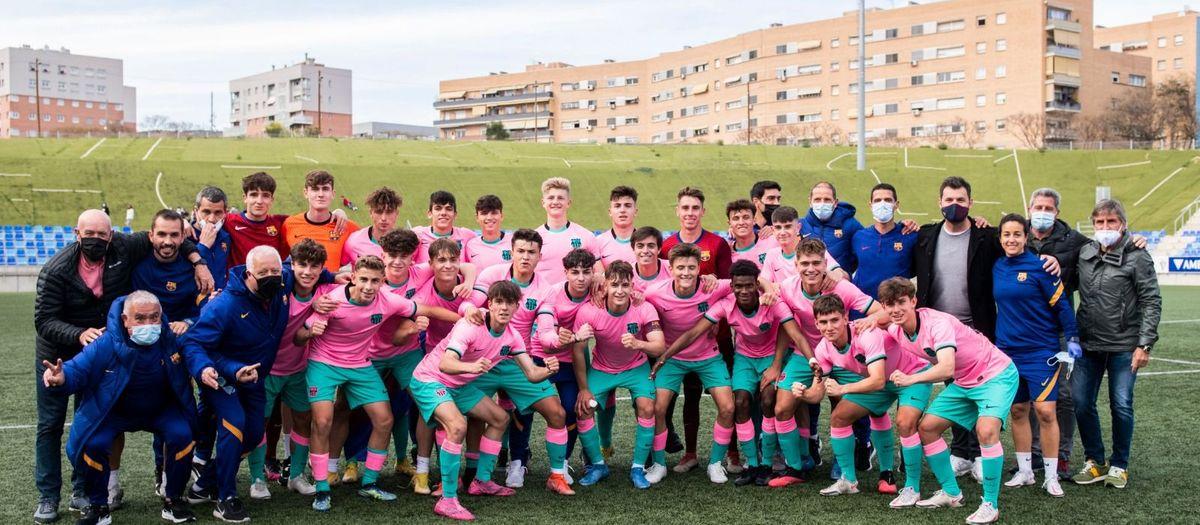 Badalona-Juvenil B: Campions de Lliga! (2-4)