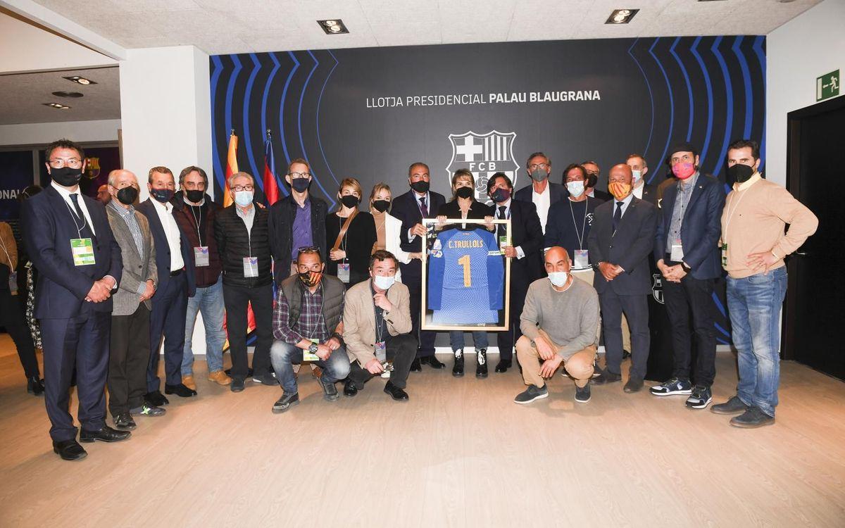 Homenaje en el Palau en recuerdo de Carlos Trullols