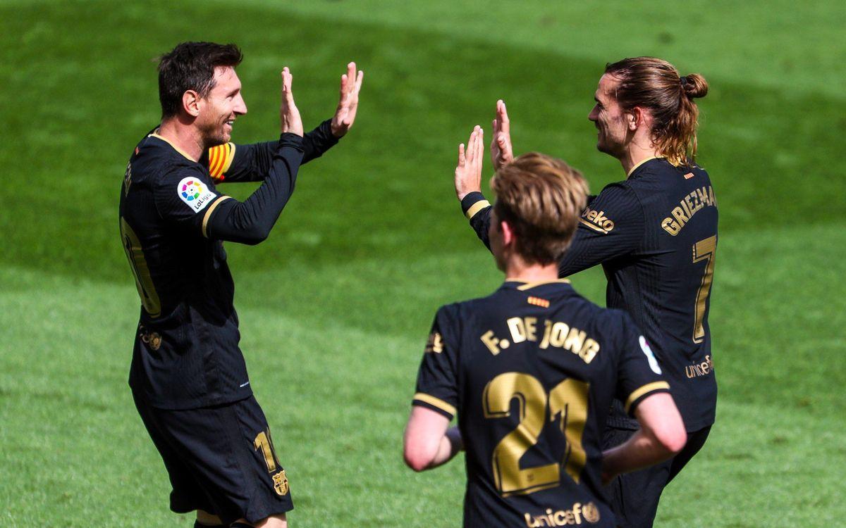 Villarreal 1-2 FC Barcelona: Keeping the pressure on