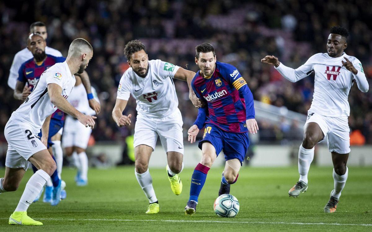 Los datos previos del FC Barcelona – Granada