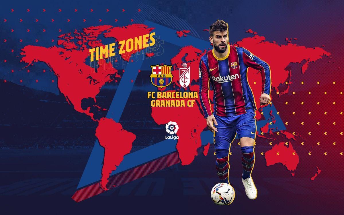 ¿Cuándo y dónde ver el FC Barcelona - Granada?