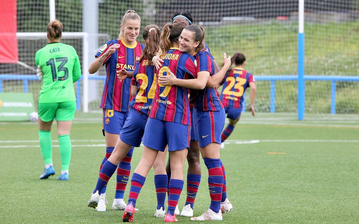 Madrid CFF - Barça Femenino: Un paso más hacia el título (0-2)