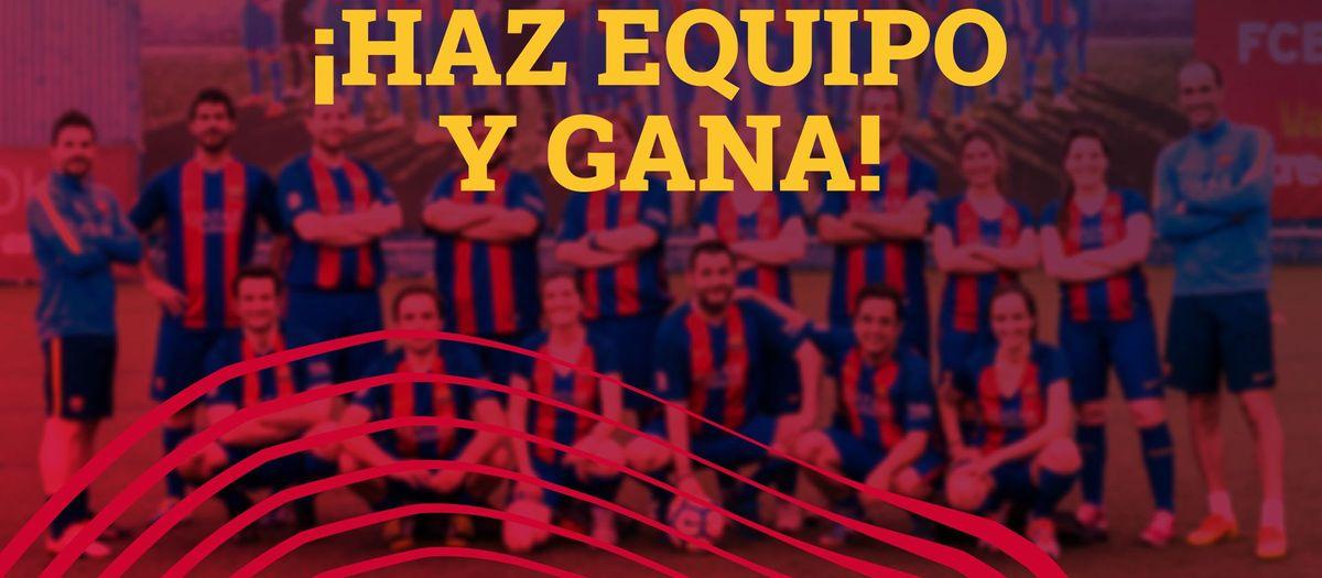 ¡Reconecta con tu equipo del Barça!