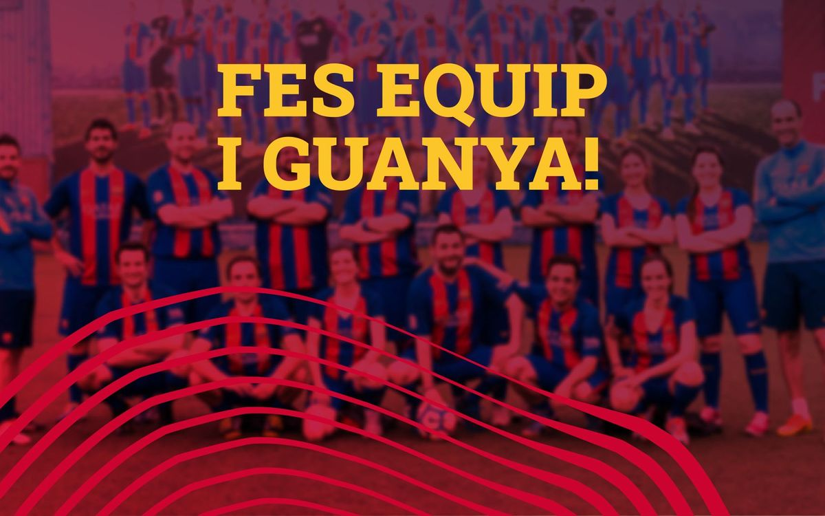 Reconnecta amb el teu equip del Barça!