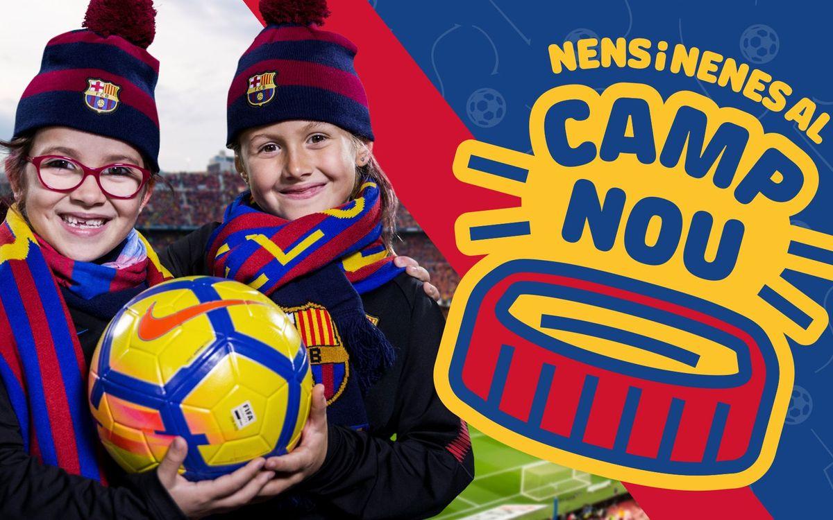 Nens al Camp Nou