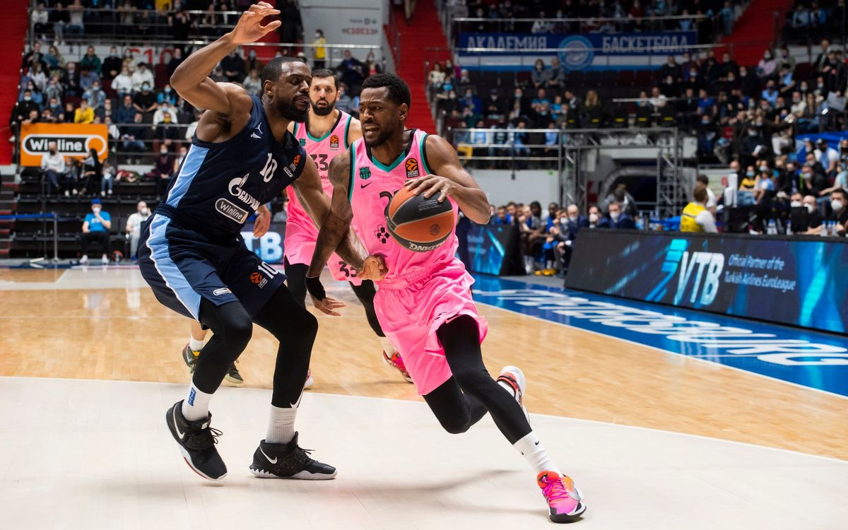 Zenit St. Petersburg v Barça: Series to be settled at the Palau (74-61)