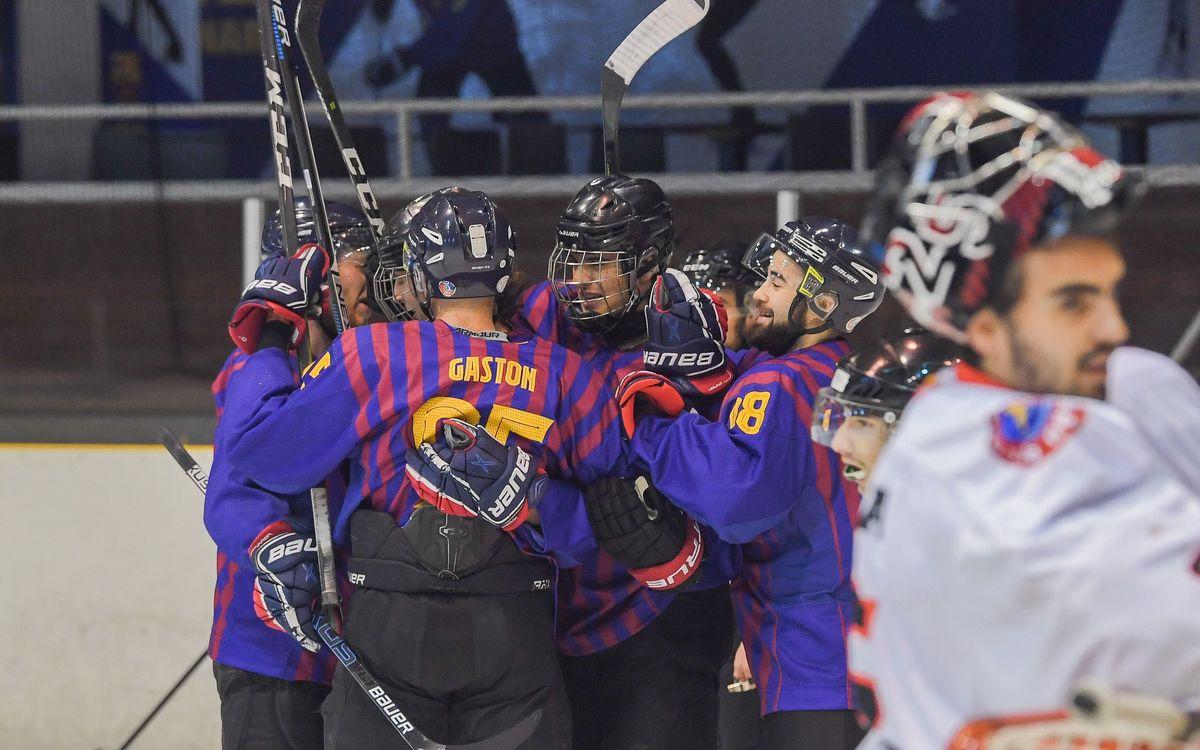 El Barça Hockey Gel estarà a la final de Copa
