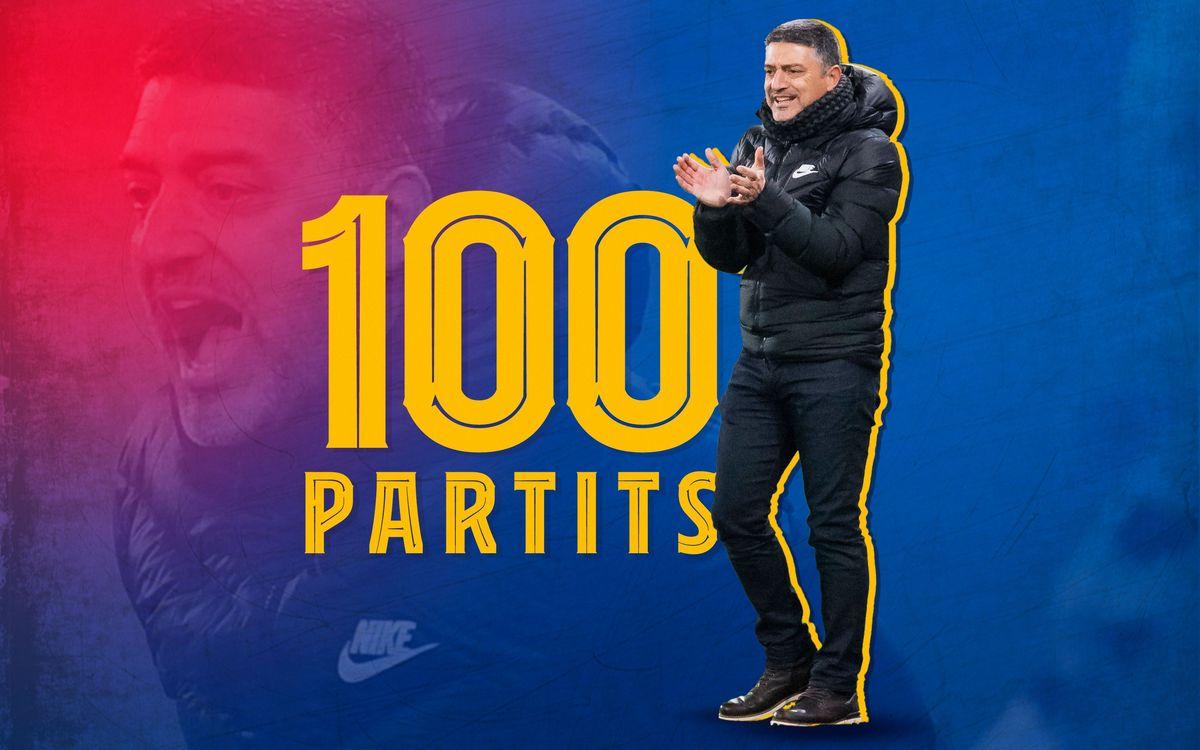 Garcia Pimienta arriba als 100 partits
