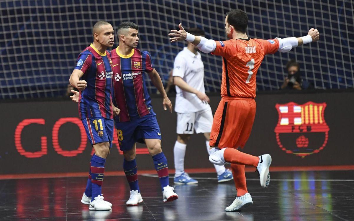 Barça 3-2 Kairat: Champions League finalists!