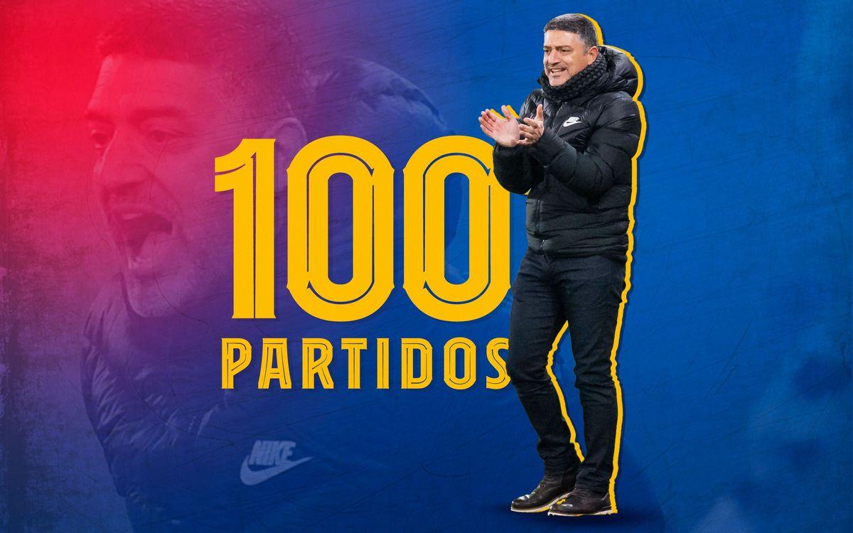 García Pimienta llega a los 100 partidos
