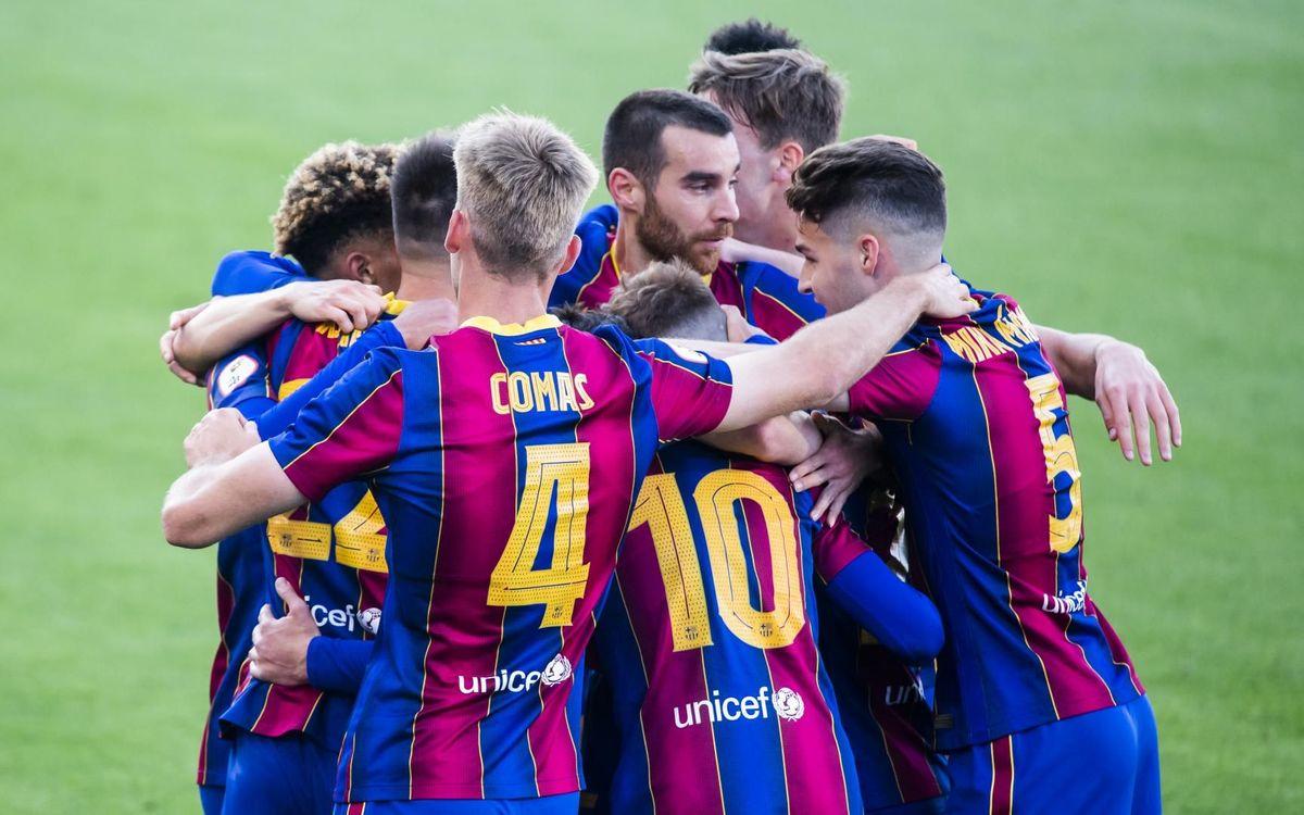 LIVE: Villarreal B v Barça B