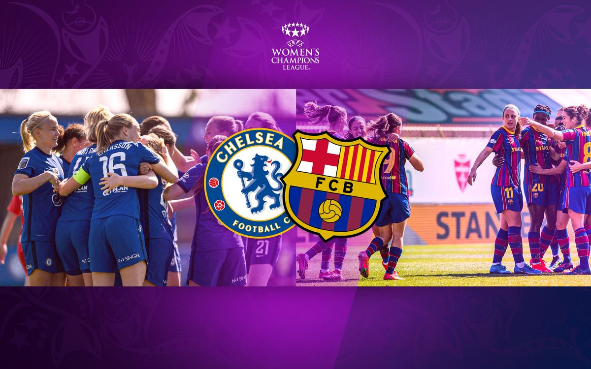 Chelsea, the opponents in the Women's Champions League final
