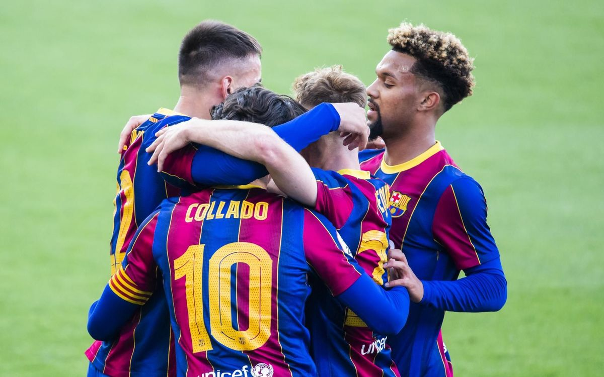 Barça B - Eivissa: Són de play-off! (2-1)