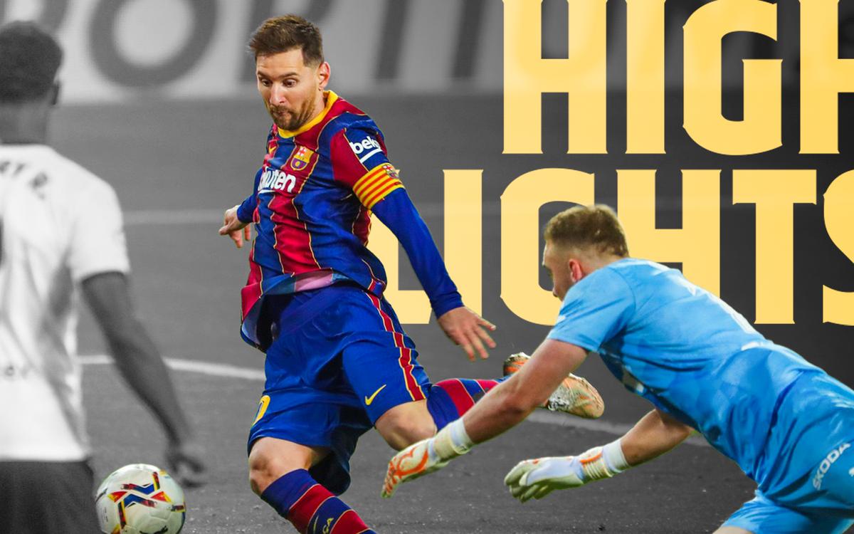 Les moments forts de Valence - Barça (2-3)
