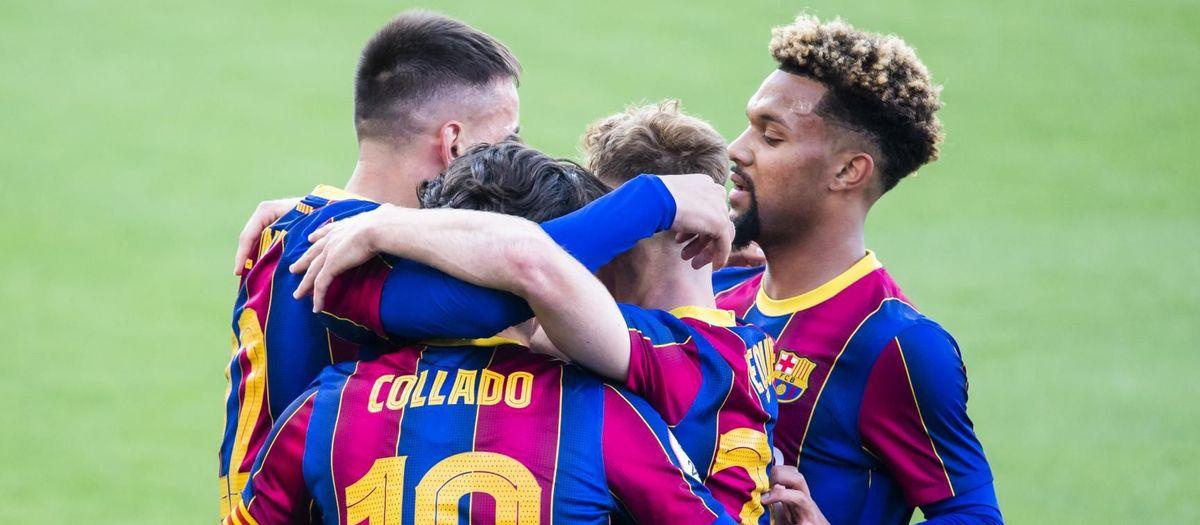 Barça B 2-1 Ibiza: Into the play-offs!