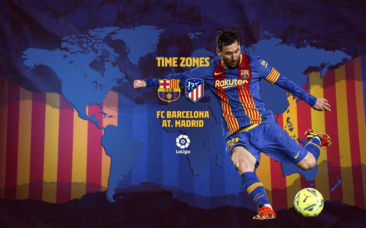 ¿Cuándo y dónde ver el FC Barcelona - Atlético de Madrid?
