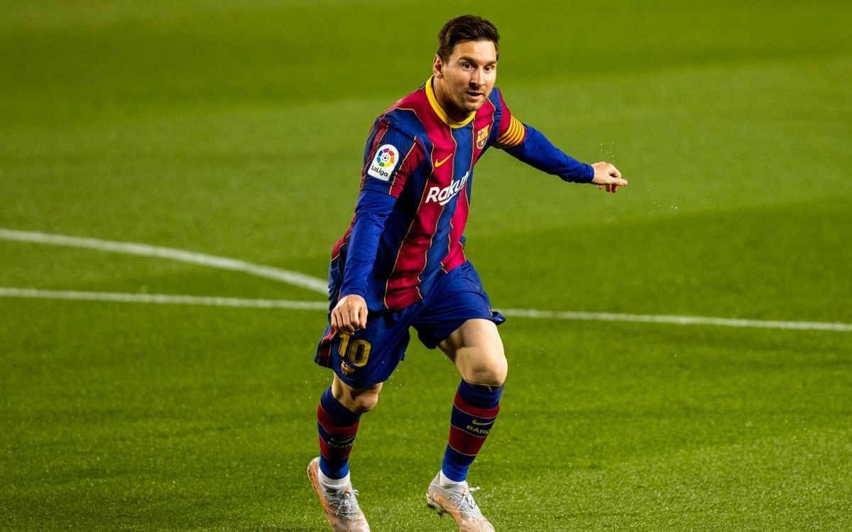 Messi, a specialist in scoring against Atlético Madrid