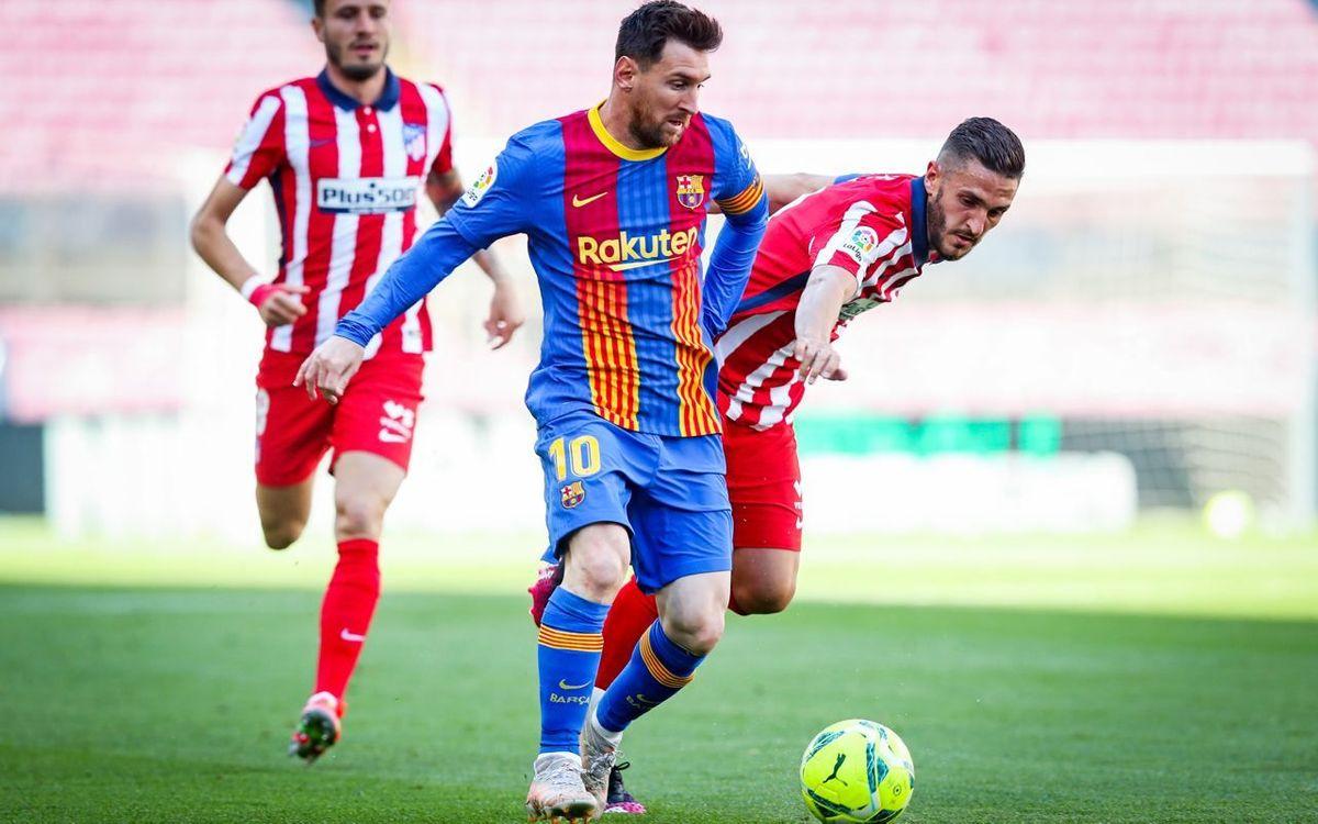 FCバルセロナ – アトレティコ・デ・マドリード: 失われた機会 (0-0)