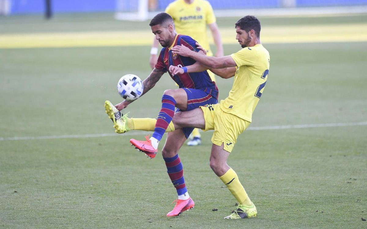 Vila-real B - Barça B: Segona posició assegurada (3-4)