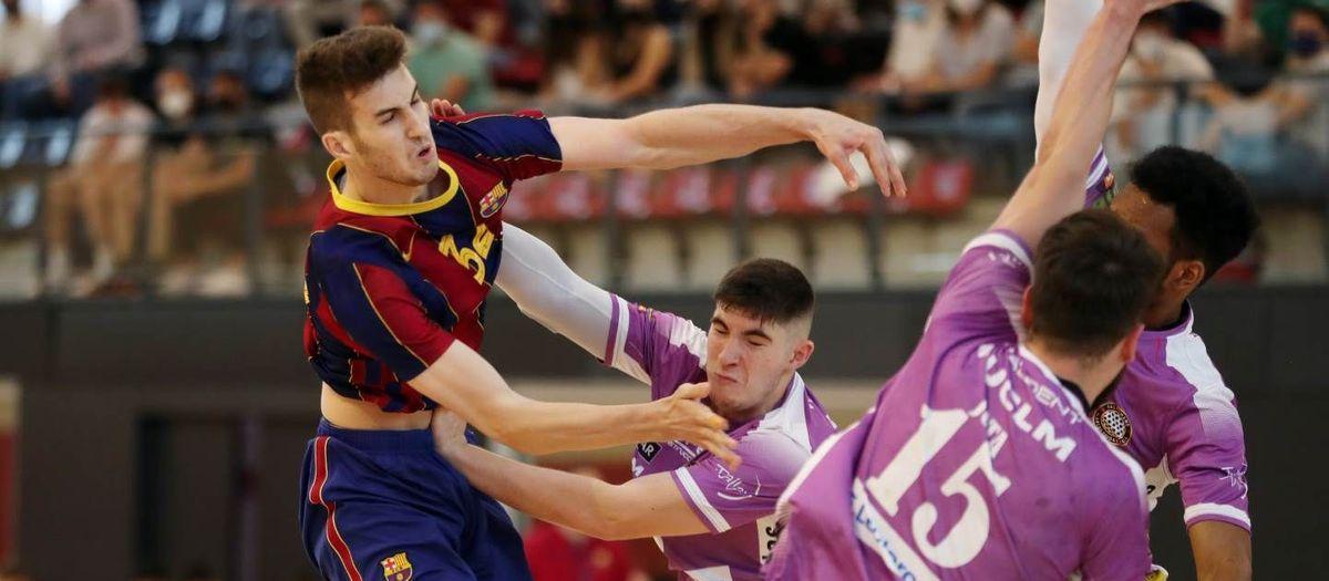 Barça B – Vestas BM Alarcos Ciudad Real: ¡Vuelven a la senda del triunfo! (30-28)